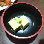 勇魚 - 蟹味噌豆腐