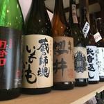食工房 やまと茶屋 - ドリンク写真:焼酎・日本酒も取り揃えております。