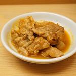 とんかつひなた - 豚肉の煮込み 山椒風味