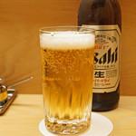 とんかつひなた - 瓶ビール