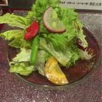 63966002 - 10食限定のハンバーグハヤシライス(サラダ・ドリンク・デザート付き)¥1,500のサラダ