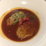 63966006 - 10食限定のハンバーグハヤシライス(サラダ・ドリンク・デザート付き)¥1,500