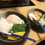 七ふく神 - 焼き白子(塩・醤油焼き)