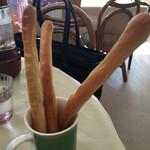 63967325 - パンのようでカタイ。塩味。