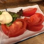 山家 - 冷やしトマト