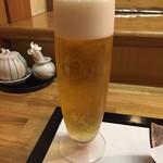 割烹かわむら - 生ビール