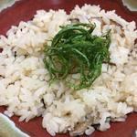 居酒屋 ハイスピリッツ - 鯛飯