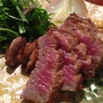 エニブリュ - 料理写真:[2017新作定番]特選国産牛もも肉の糠漬けステーキ