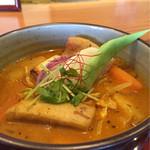 63974507 - スープカレーは野菜がたっぷり