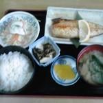 多加箸 - 塩サバ定食:800円(税込)【2017年3月撮影】