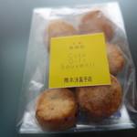 隈本総合飲食店 MAO - ローズマリーとチーズのクッキー