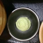 わだ泉 - 付属のワサビ【料理】