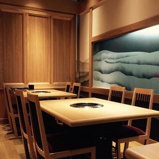 ≪個室完備≫デート、接待、会食等におすすめ。落ち着いた和空間