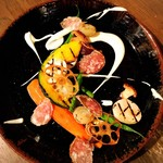 銀座ストック - 季節野菜の取合せ