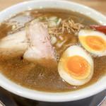 麺や七彩 - 味玉らーめん(煮干し)
