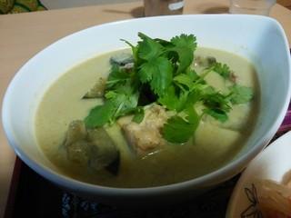 プラトゥータイ - 「タイのグリーンカレーのヌードル(玄米バージョン)」