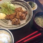 さくら通り三楠 - 唐揚げ定食