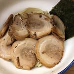 麺や天四郎 - チャーシューつけ麺☆★★☆麺大