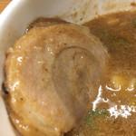 麺や天四郎 - つけスープDIVE☆★★☆イケる