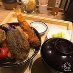 タレカツ - 特製あいもり丼1040円