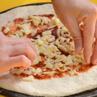 ★ピザに合うチーズを豊富に使用しております♪