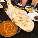 インド料理 INDIA - タンドリーセット (ポークカレー)