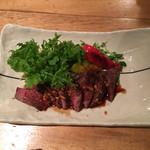 63993593 - 大沼牛ランプと彩どり野菜の鉄板焼