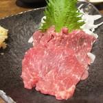 坐・和民 - 桜肉の刺身