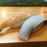 笹寿し - 海老ちゃんとイカさん
