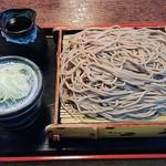 63995250 - 御厨蕎麦691円(税込)+大盛り200円。