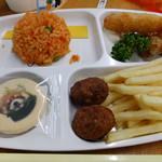 千葉市動物公園 森のレストラン - お子様ランチ