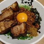 麺屋こころ - 肉入り台湾まぜそば