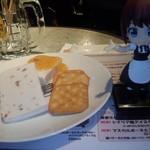 阿佐ヶ谷ロフトA - アイスチーズケーキ 500円