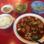 中国料理 四川  - セレクトランチの麻婆豆腐セット