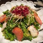 菜々 土古里 - チョレギサラダ 2017/03/15(水)訪問