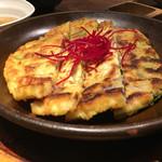 菜々 土古里 - 野菜チヂミ ¥1000 2017/03/15(水)訪問