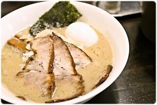 らーめん こてつ - 特製しおらーめん 950円 まろやかな旨味に溢れたWスープが美味い♪