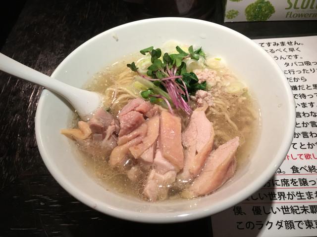 塩生姜らー麺専門店 マニッシュ - 塩生姜らー麺 肉増し