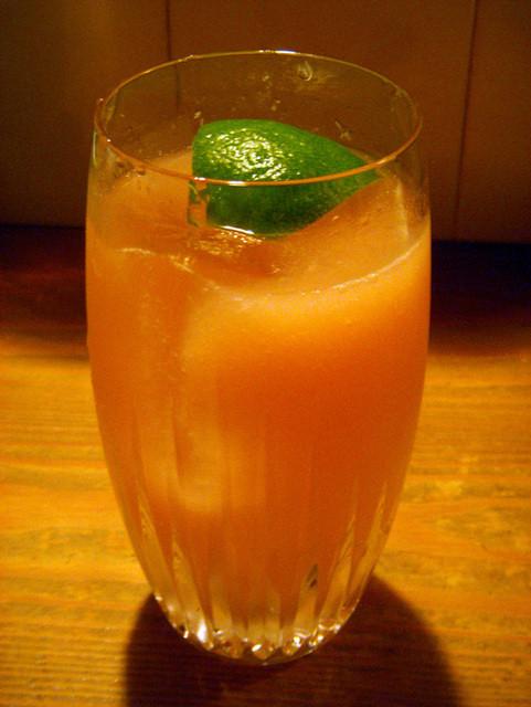 cocktail bar spoon - オレンジブロッサム、ロックスタイル