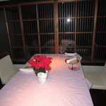 貴匠桜 - X,masnoテーブルの雰囲気
