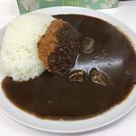 本家カレーの店 龍 - カツカレー(普)700円