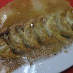 大連 - 大根と牡蠣の焼き餃子