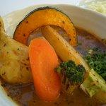 スープカレー plus one - チキンスープカレー