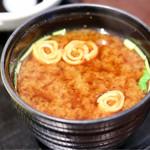 寿司割烹 寿司御殿 - 味噌汁