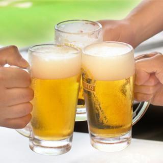 種類豊富♪追加料金でアルコールも飲み放題!