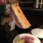 64014956 - 花畑牧場のラクレットチーズ