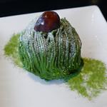 寿月堂 - 濃厚抹茶モンブラン