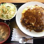 ぐらんまま - オムカレー680円