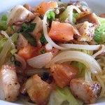 パスタクラブフェローズ - ランチ(チキンとキャベツのオイルスパゲティ)ZOOM