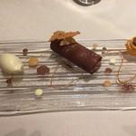 ロワゾー・パー・マツナガ - チョコレートと金柑